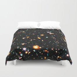 Hubble Extreme Deep Field High Resolution Duvet Cover