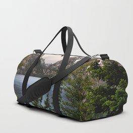 Grand Teton Wanderlust Lake Adventure - Nature Photography Duffle Bag