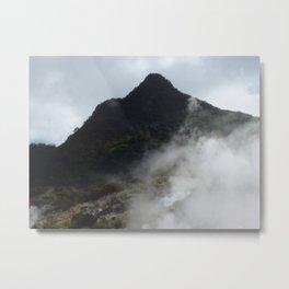 Japan's Sulphur Springs Metal Print