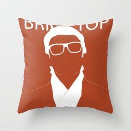 Brick Top Throw Pillow