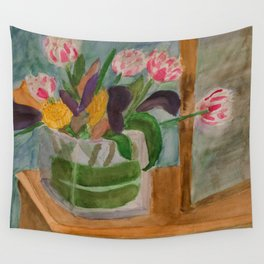 From Elizabeth to Mom Wall Tapestry