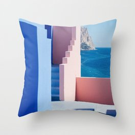 Colour architecture Throw Pillow