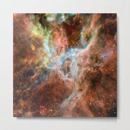 Central region of the Tarantula Nebula (NASA/ESA/Danny LaCrue) Metal Print