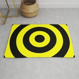 Target (Black & Yellow Pattern) Rug