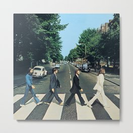 Abbey Road Original Remastered  Metal Print