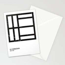 Le Corbusier Tribute Stationery Cards