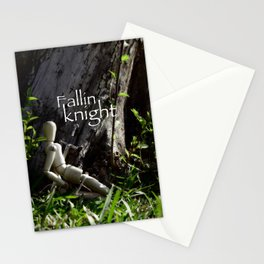 fallin knight  Stationery Cards