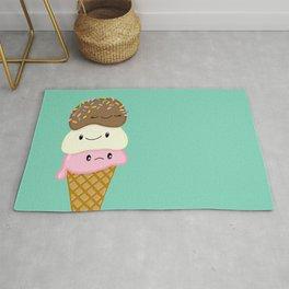Cute Ice Creams Rug