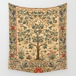 "William Morris ""Tree of life"" 3. Wandbehang"