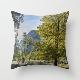 The Tree by Sentinel Bridge Throw Pillow