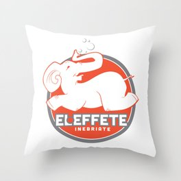 El Effete Throw Pillow