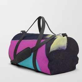 African American Masterpiece 'Joyful Abstraction' abstract landscape painting by E.J. Martin Duffle Bag