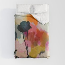 paysage abstract Duvet Cover