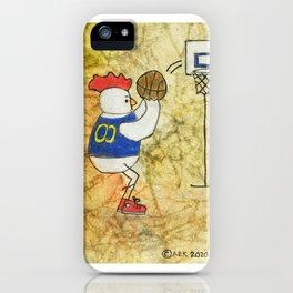Basketball Chicken iPhone Case