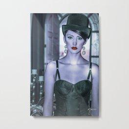 4891 Debutante Mistress Natasha Metal Print