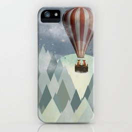 The foxes great adventure iPhone Case