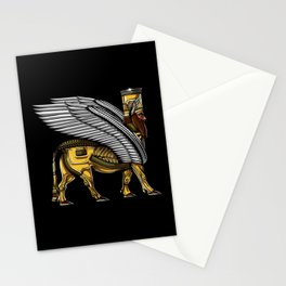 Alien Anunnaki God Ancient Sumerian King Stationery Cards