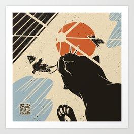 Bird call Art Print