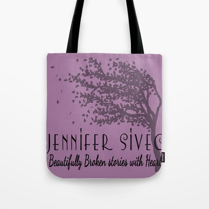 Jennifer Sivec-Author Logo by Brenda Gonet Tote Bag