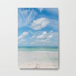 Florida Ocean View IX Metal Print