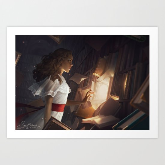 The Reader by charliebowater