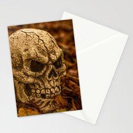 Halloween Skull 1 Stationery Cards