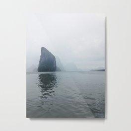 Islands in the Fog Metal Print