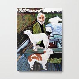Goodfellas Dogs Painting, Artwork for Wall Art, Prints, Poster, Tshirts, Men, Women, Youth Metal Print