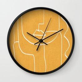 Abstract line art 41 Wall Clock