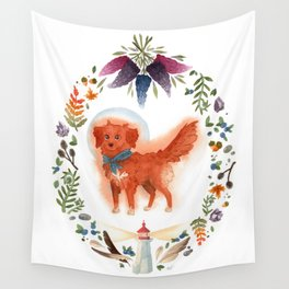 East Coast Pup Wall Tapestry