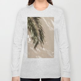 tropical palm leaves vi Long Sleeve T-shirt