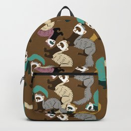 Mustelids are the best antidepressants #8 Backpack