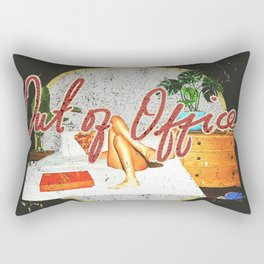 Out of Office Rectangular Pillow