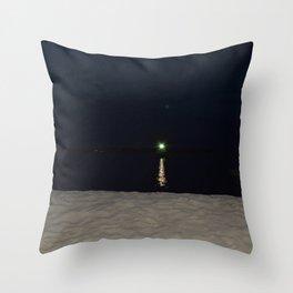 Green Gatsby Throw Pillow