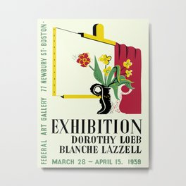 Loeb/Lazzell Exhibition Metal Print
