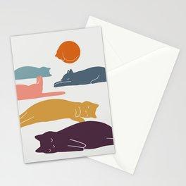 Cat Landscape 11 Stationery Cards