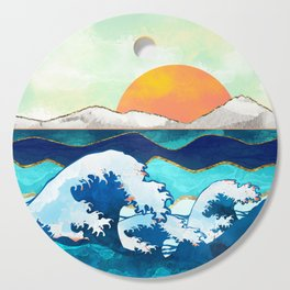 Stormy Waters Cutting Board