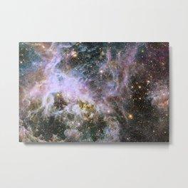Cosmic Tarantula Nebula (infrared view) Metal Print