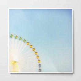 """by the big wheel generator"" Metal Print"