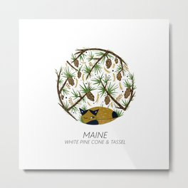 American Cats - Maine Metal Print