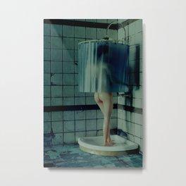 Shower Metal Print