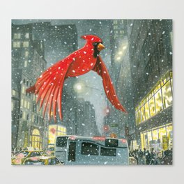 Flying up 5th Avenue Canvas Print