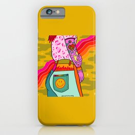 Smiley Booty iPhone Case