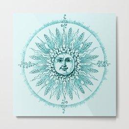 Aqua Dreams Metal Print