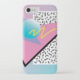 Memphis pattern 41 - 80s / 90s Retro iPhone Case