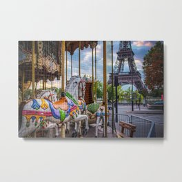 paris awaken Metal Print