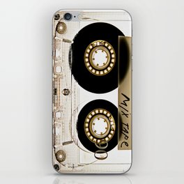 Retro classic vintage transparent mix cassette tape iPhone Skin