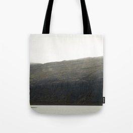 Dark Cliff Tote Bag