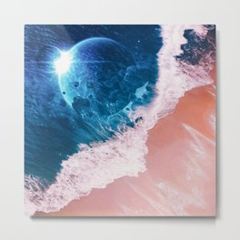 Rebel wave Metal Print