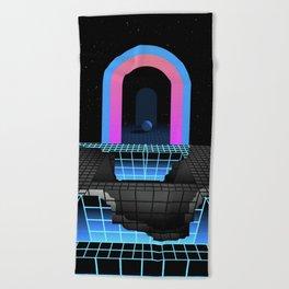 DÉTRUIT 1984 Beach Towel